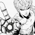 Genos Androide do One Punch Man para colorir
