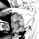 One Punch man Saitama serio 150x150 - One punch man sorrindo para imprimir e pintar