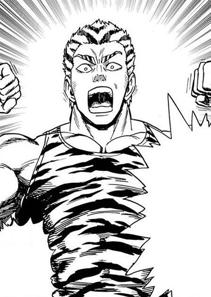 Tanktop Tiger nervoso para colorir opm