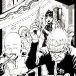 One punch man Saitama Silver Fang Bang