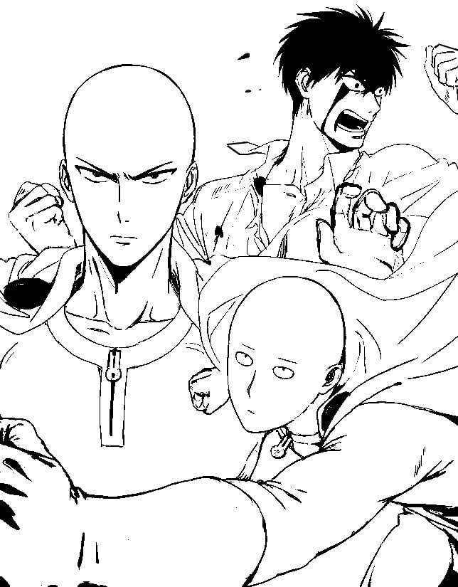 One punch man fases